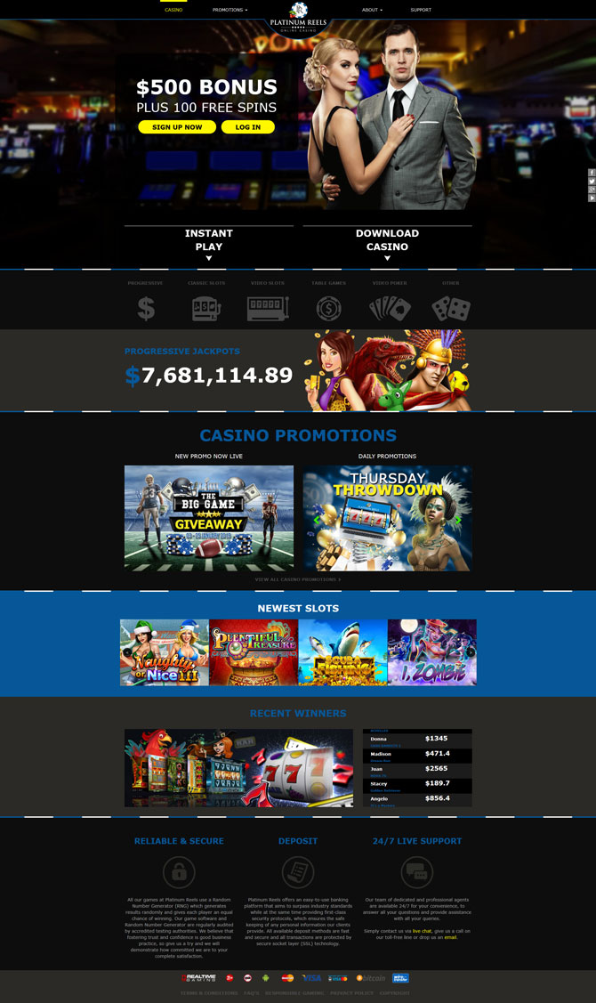 Get started on your favourite casino games