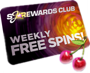 SlotJoint Rewards Club - Weekly Free Spin Spins