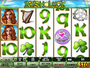 Play Irish Luck Online Pokies at Casino.com Australia