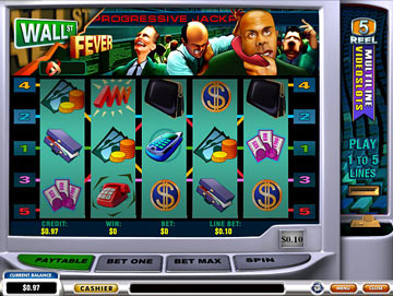 Play Wall Street Fever Online Pokies at Casino.com Australia